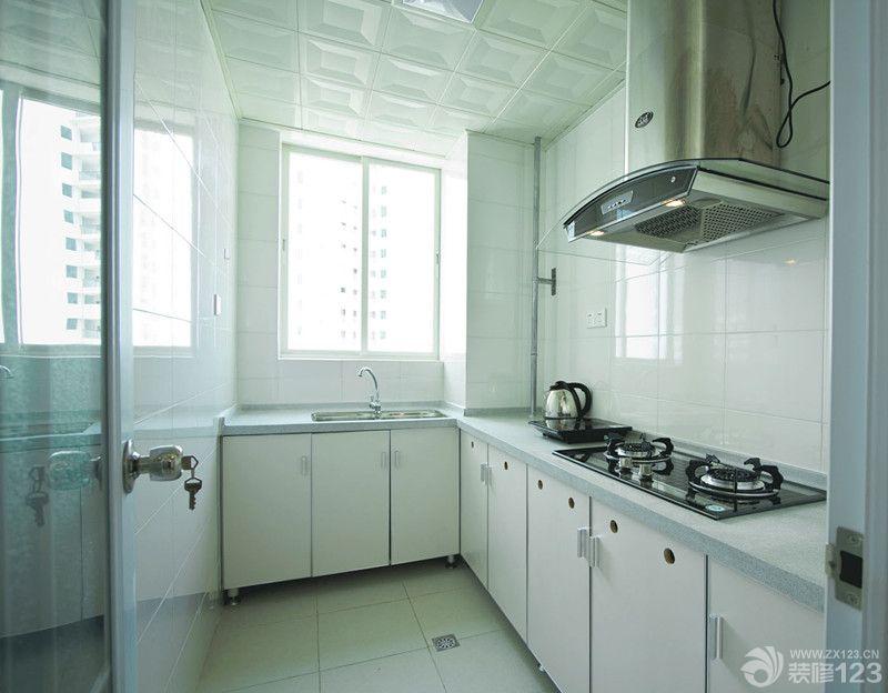 现代厨房铝扣板贴图装修实景图