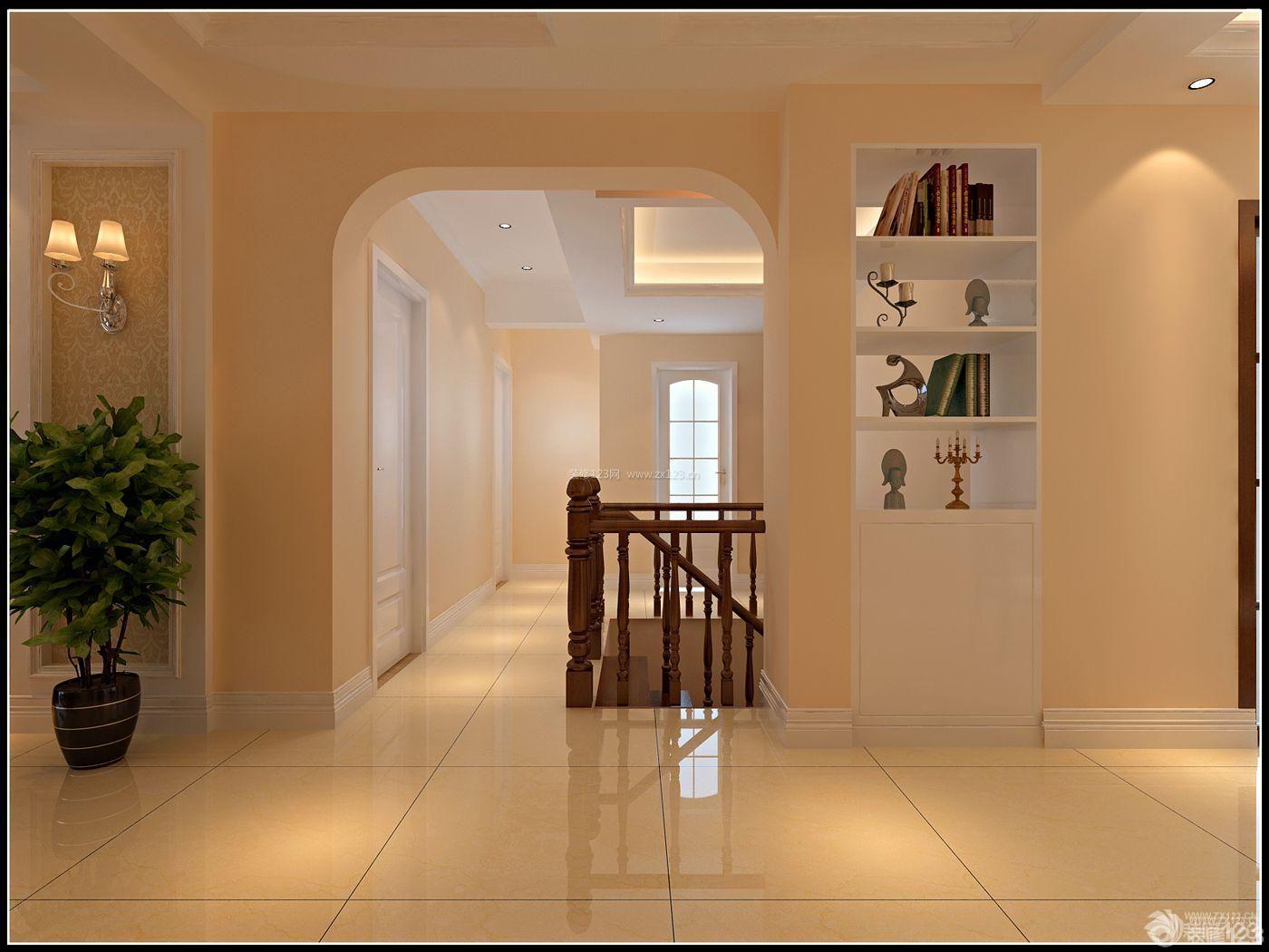 拱形门洞大理石地砖装修设计效果图大全