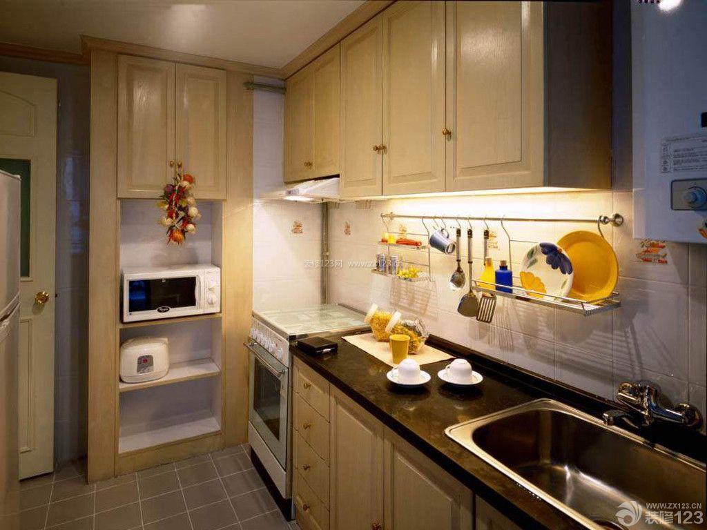 家庭小户型厨房设计装修样板间图片