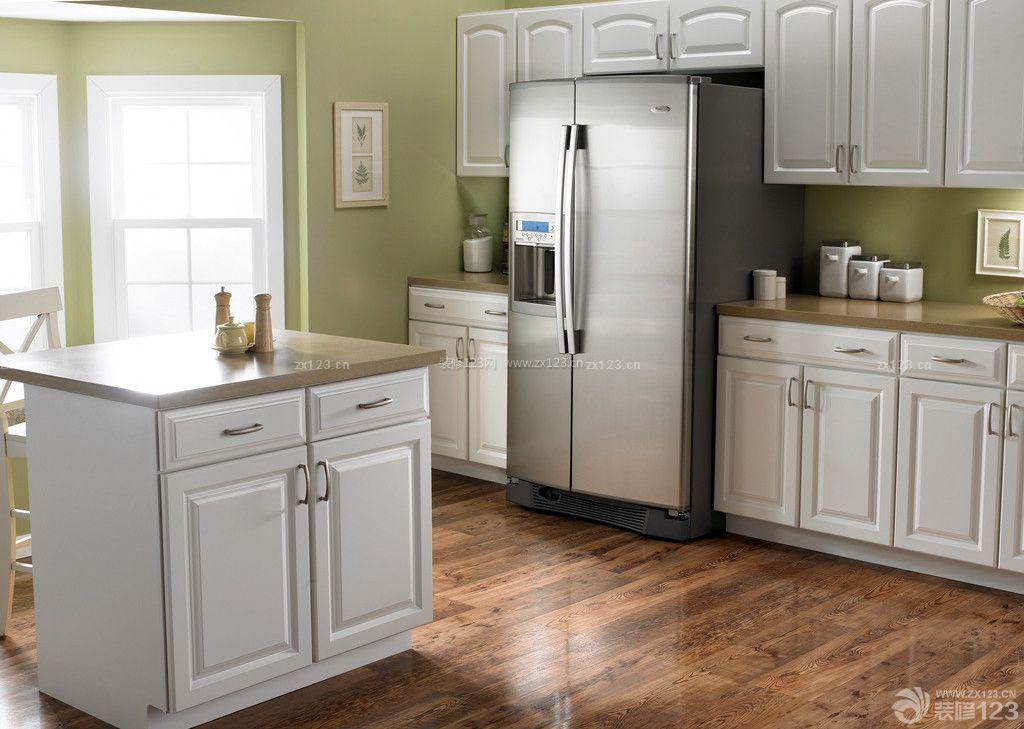 欧式风格家庭厨房装修样板房图库图片
