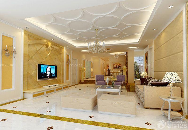 140平米三室二厅一卫欧式风格室内装修效果图