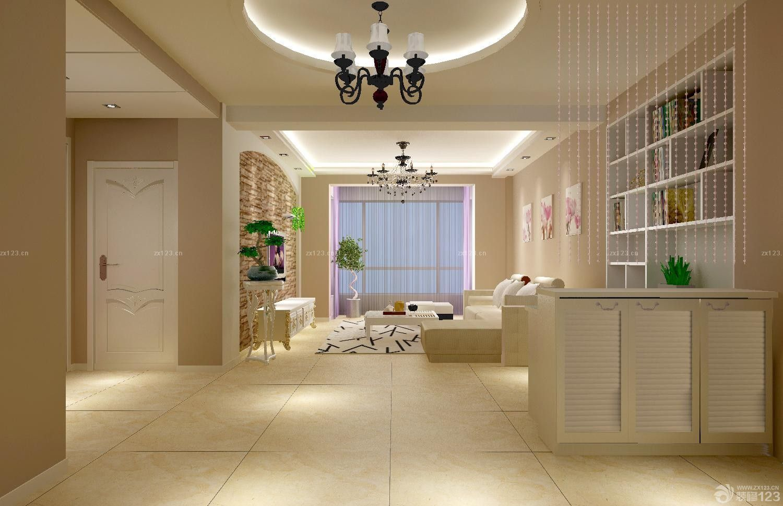 现代温馨风格三室两厅一厨一卫室内装修效果图