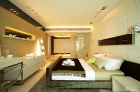 54平米一室一厅小户型单身公寓装修效果图