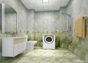 衛生間地磚效果圖 衛生間瓷磚貼圖 鋁扣板集成吊頂