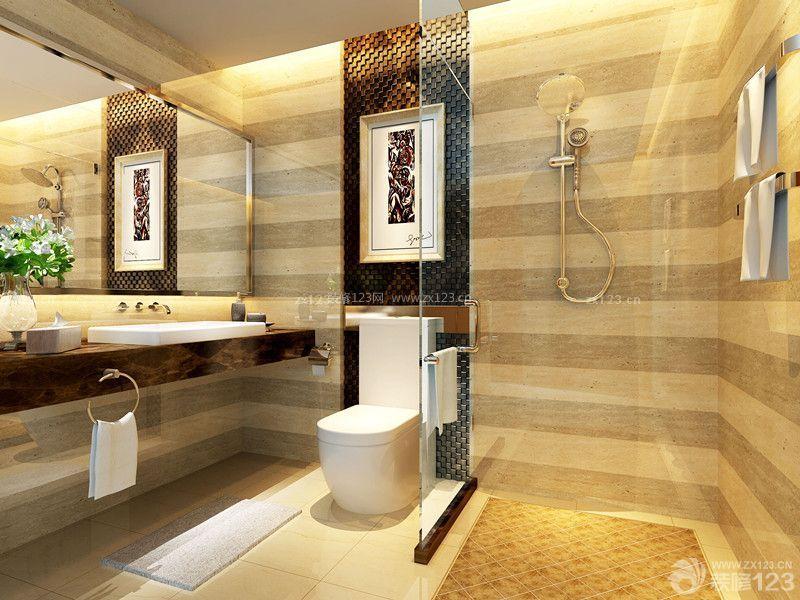 温馨室内卫生间淋浴房装修效果图大全