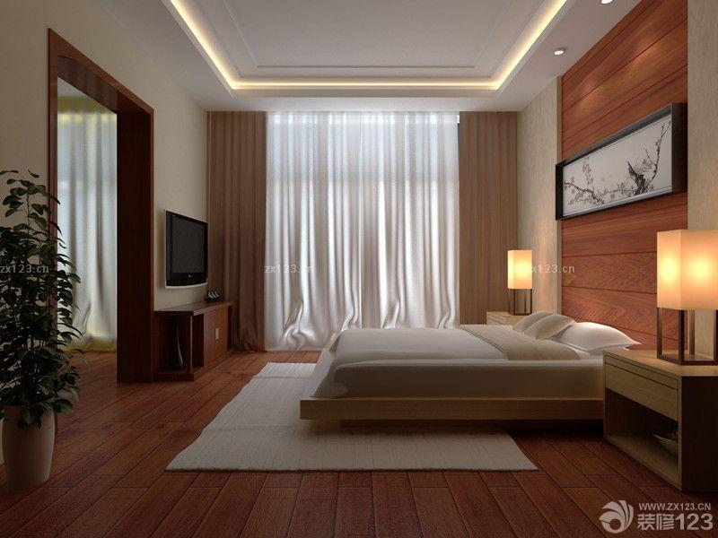 最新韩式主卧室装修效果图大全2014图片