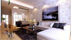 現代家居新房客廳背景墻裝飾圖大全