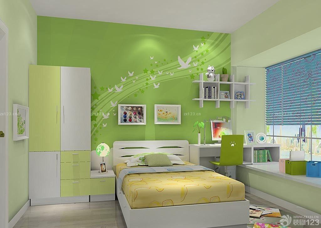 60平米小户型小清新创意儿童卧室装修效果图欣赏