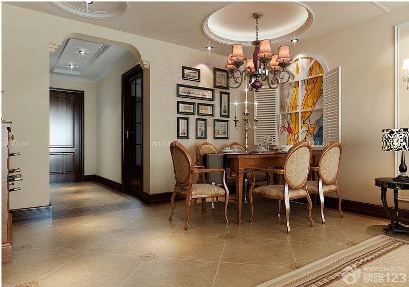 115平米新房客厅装修样板房图片设计