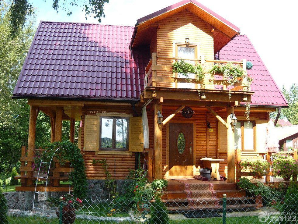经典农村房屋小别墅外观设计效果图-某农村二层乡间小别墅设计图 结