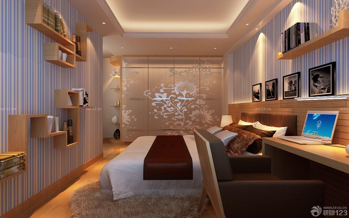 温馨80后家装小户型创意卧室装修效果图