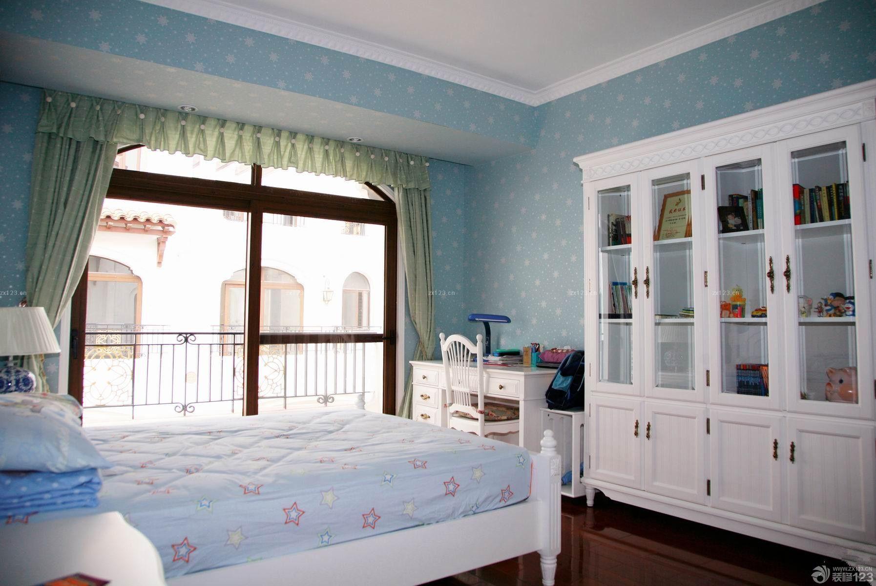 2014北欧风格女儿童房卧室装修案例图片