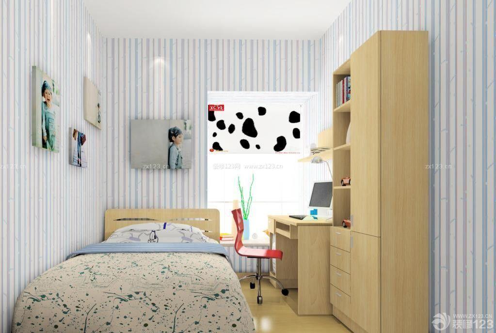 交换空间7平米小卧室组合柜效果图