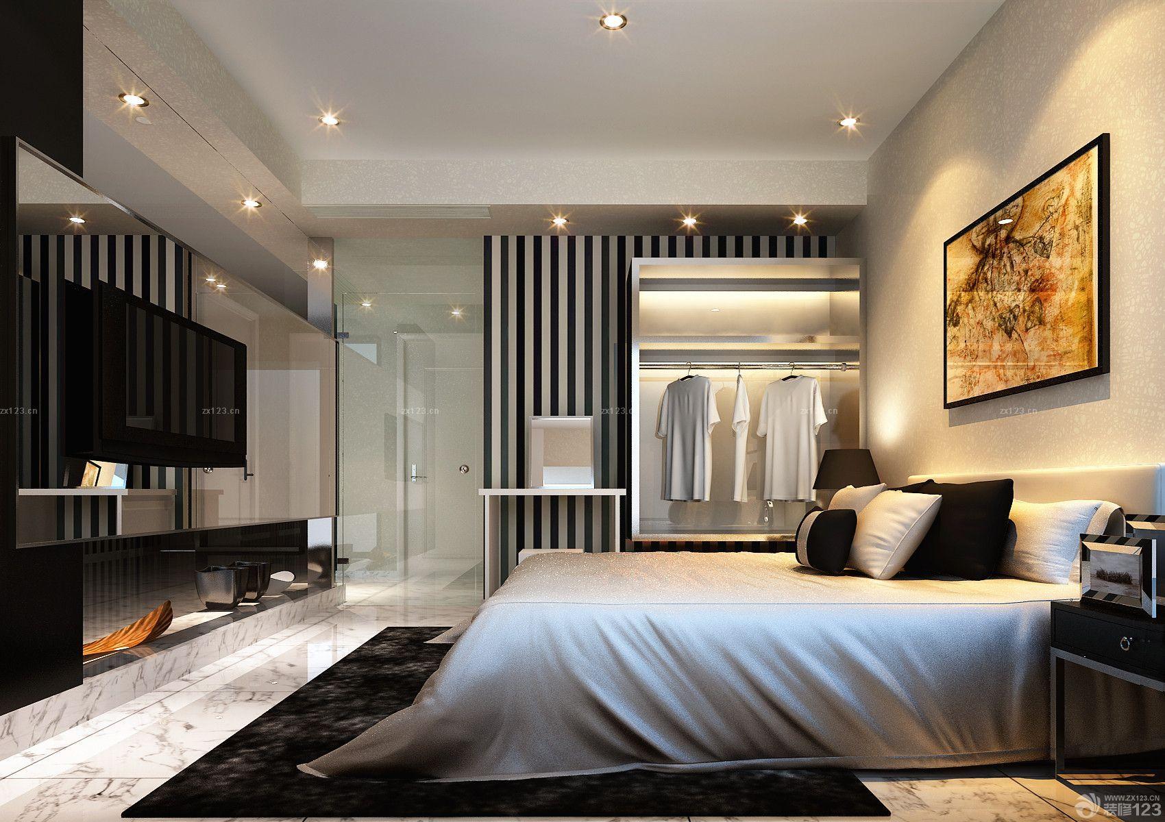 背景墙 房间 家居 起居室 设计 卧室 卧室装修 现代 装修 1700_1200图片