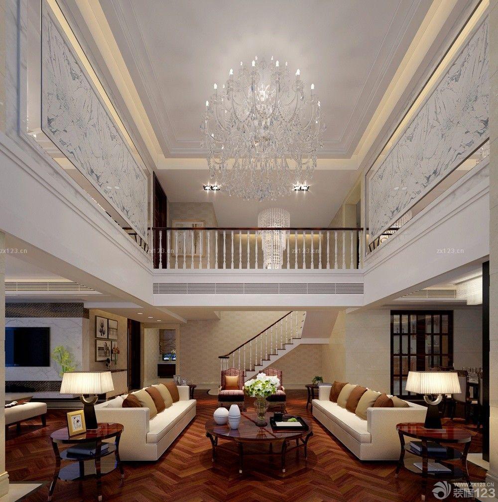 最新经典别墅挑空客厅设计图片欣赏