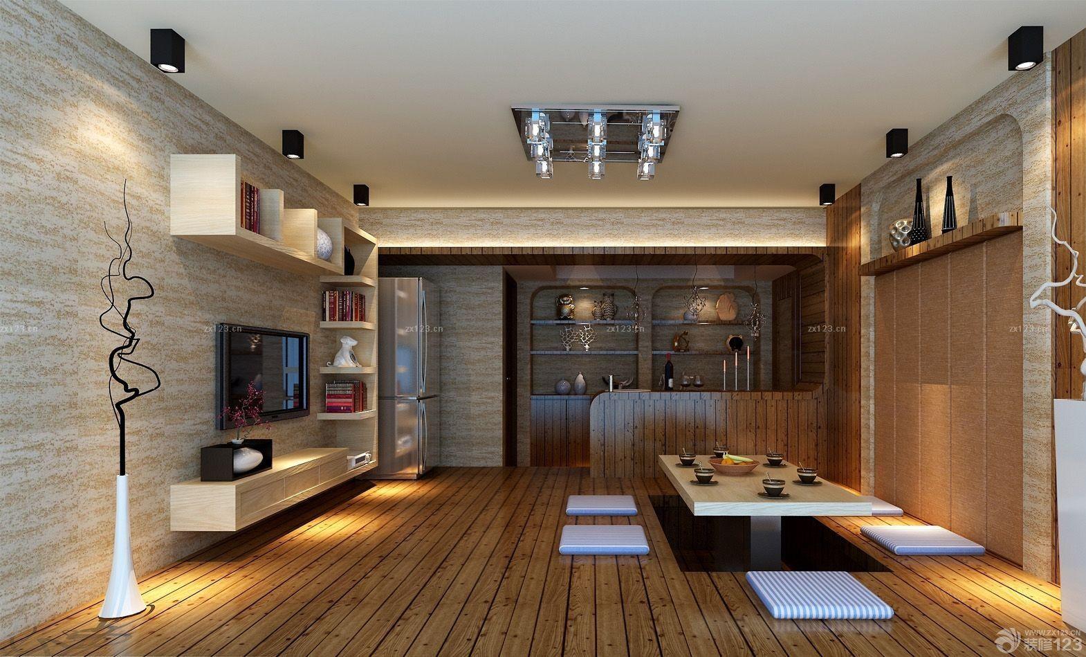 日式风格家居室内餐厅装修效果图