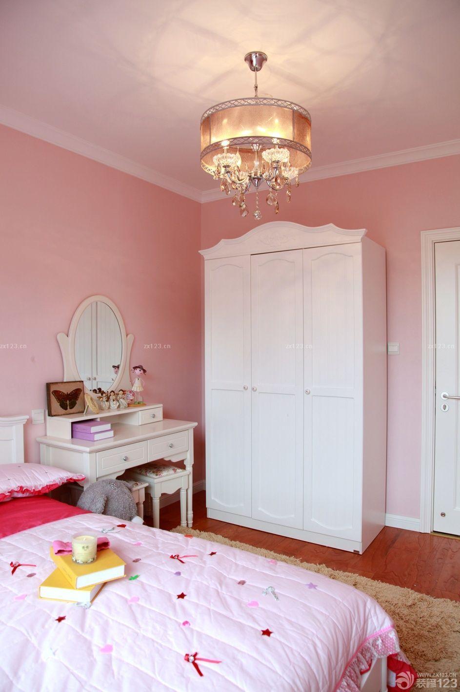 90平米房子卧室仿古地砖装饰图片