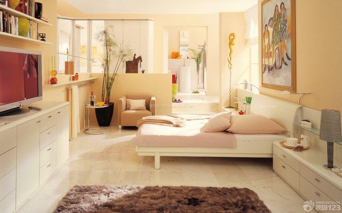 温馨25平米小户型单身公寓设计效果图