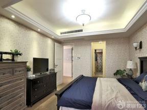 歐式室內裝潢 大臥室 室內吊頂