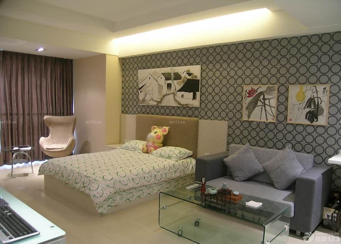 30平米酒店式公寓装修效果图