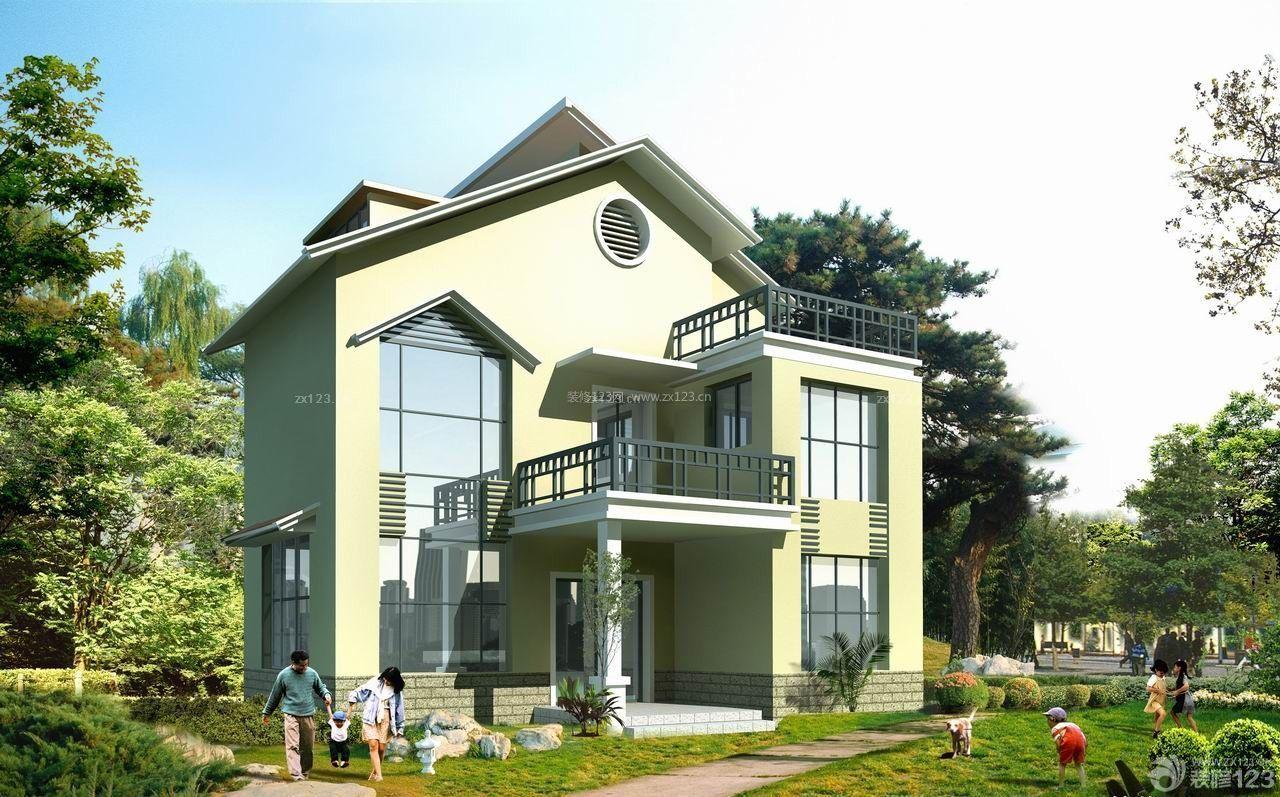 2014最新农村小洋楼外观设计图片欣赏