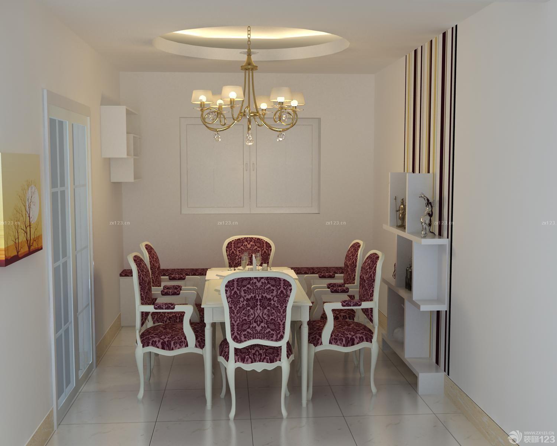 最新小户型楼中楼餐厅现代博古架装修效果图