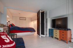 交換空間50平小戶型臥室屏風設計圖片