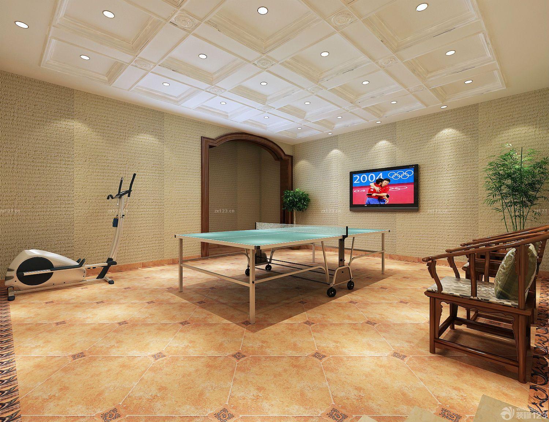 台球室天花板吊顶装修图片