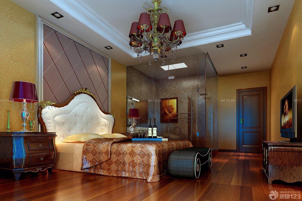 简欧风格客厅天花板装饰效果图
