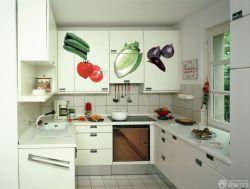 簡潔家裝廚房整體櫥柜設計效果圖