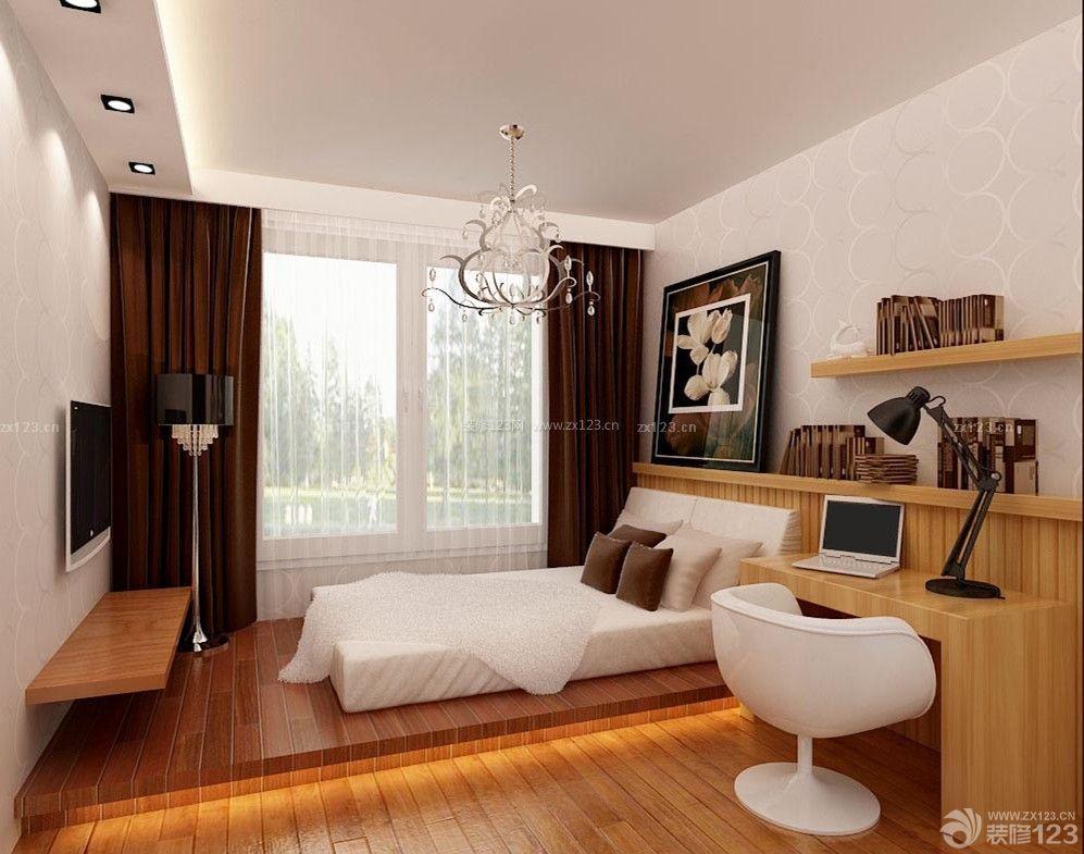 70平米房子经典小房间卧室设计图片_装修123效果图
