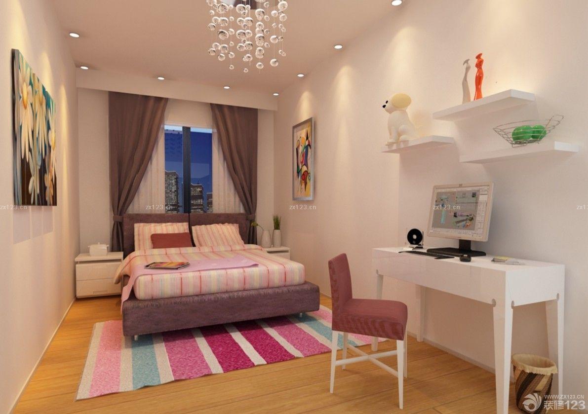 65平米房子室内女生小房间卧室装修效果图