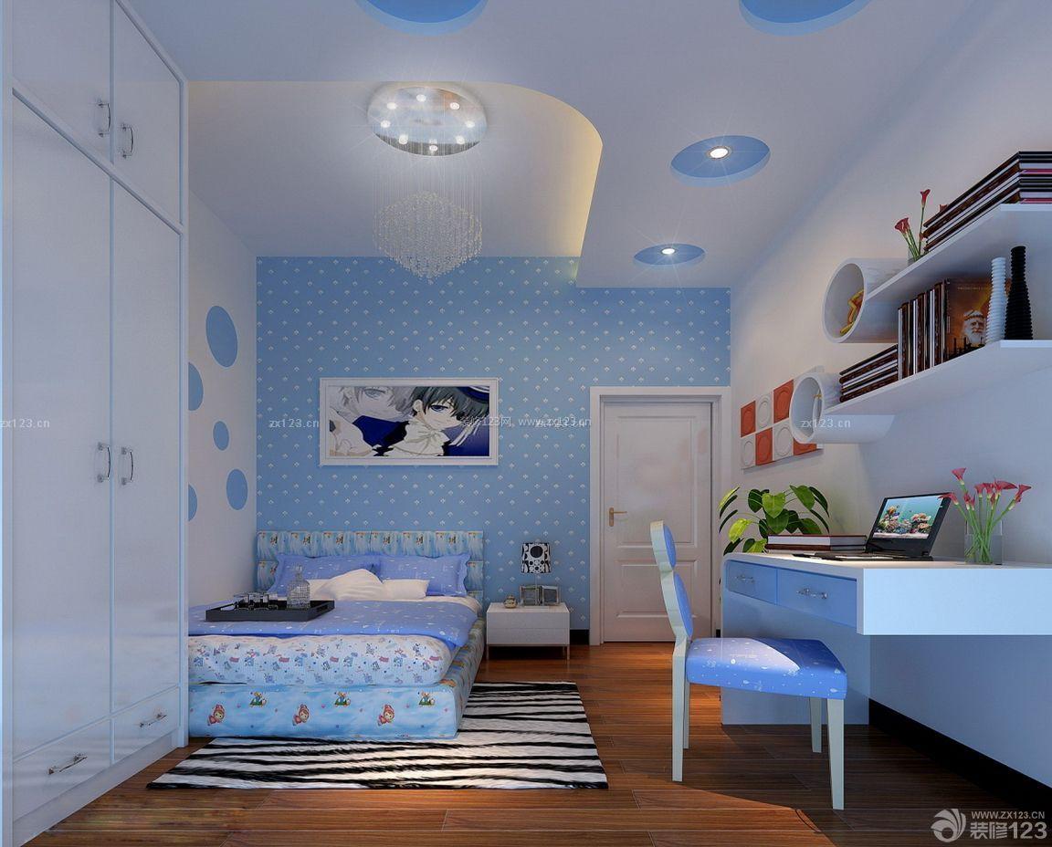 儿童小房间装修效果图 80平米房屋