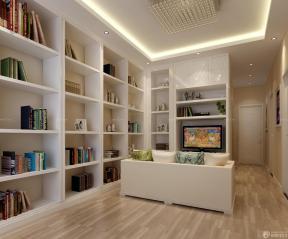 交换空间50平小户型 电视背景墙组合柜