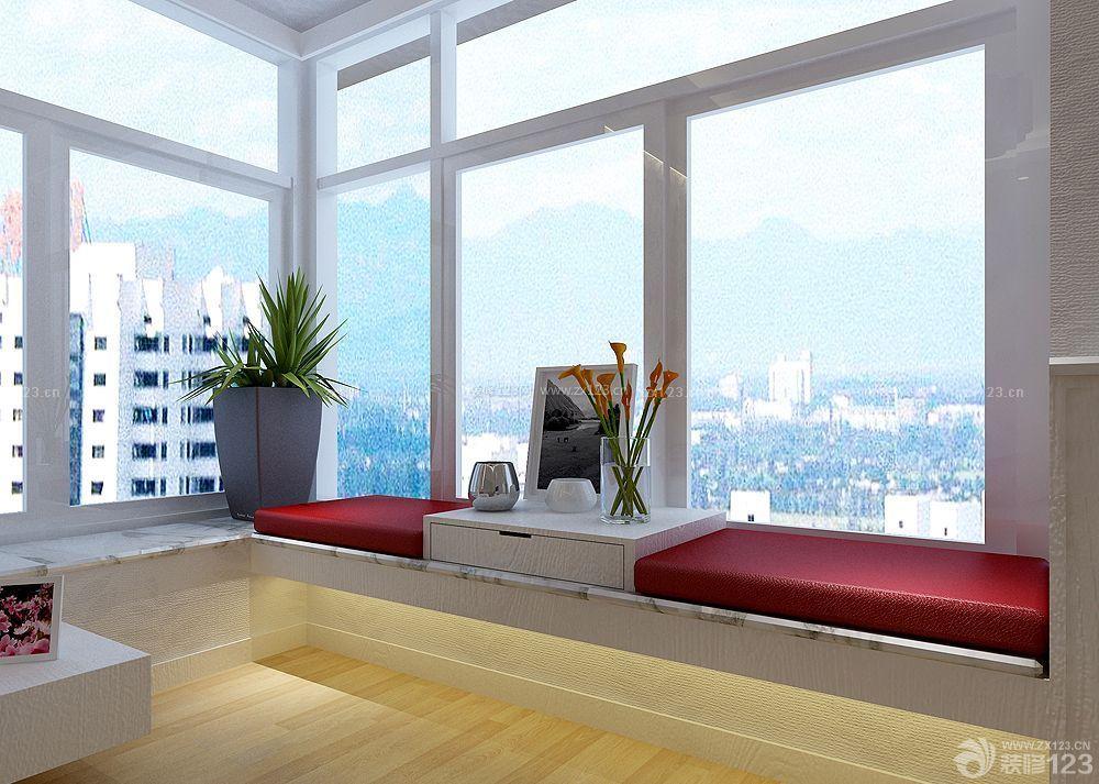现代温馨转角飘窗设计效果图图片