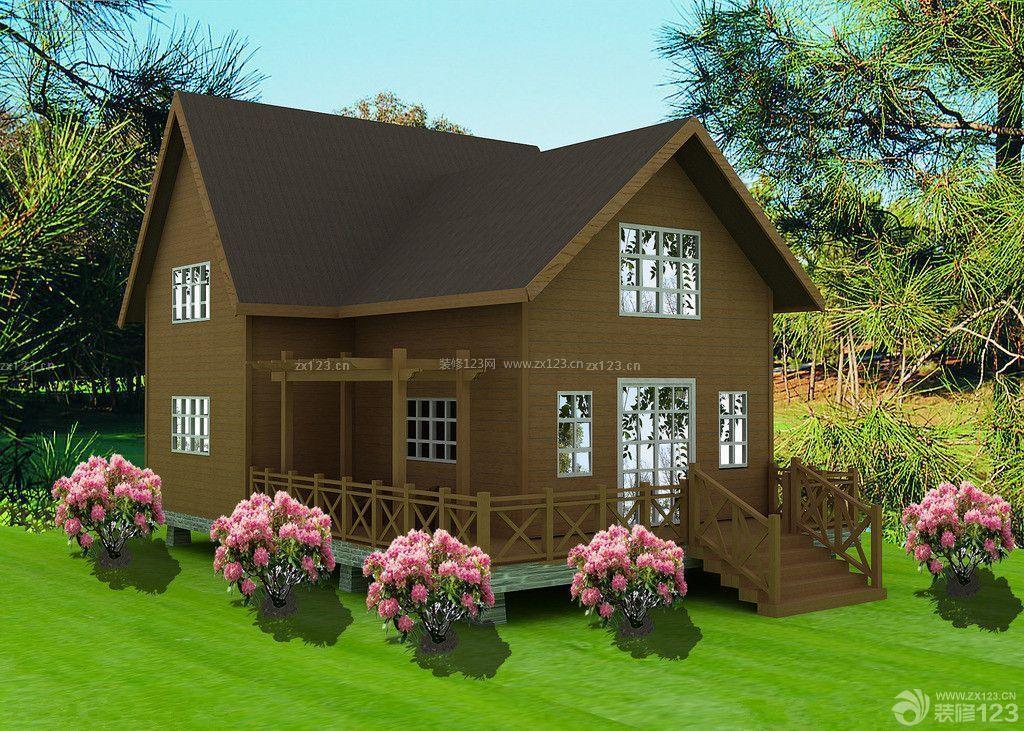 最新小木屋别墅设计效果图图片