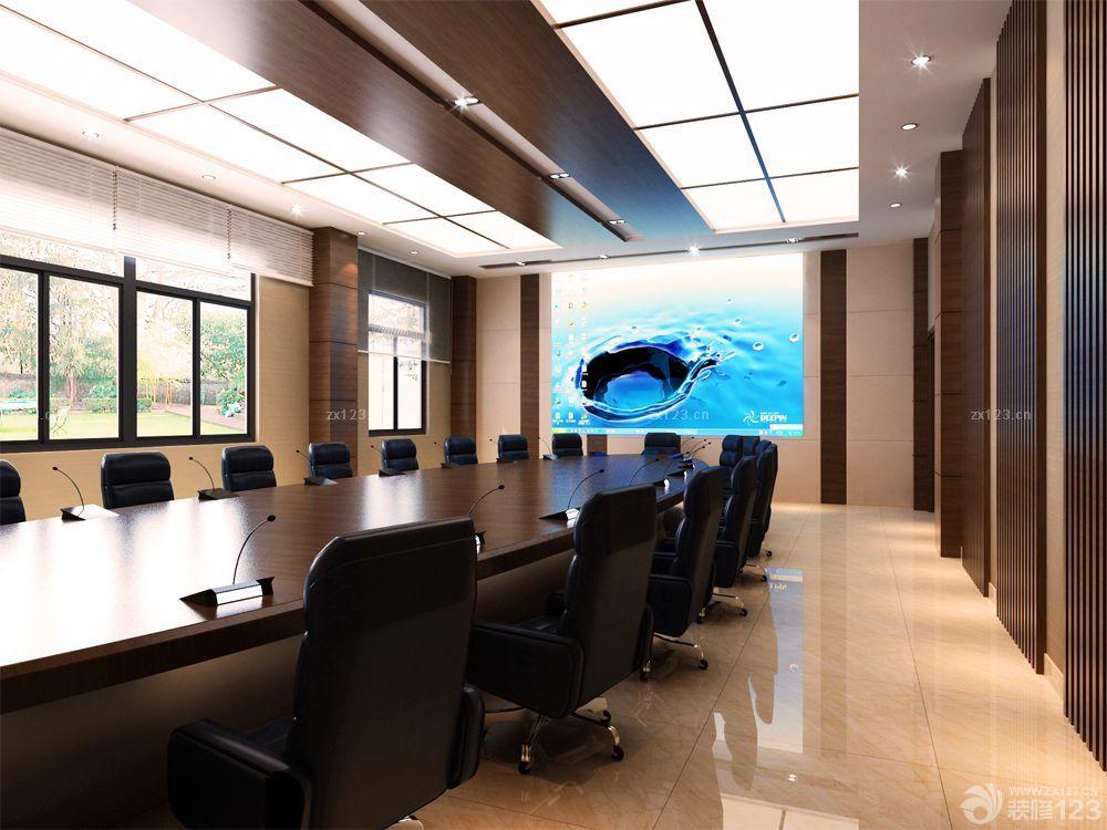 大会议室天花板吊顶装修设计图片