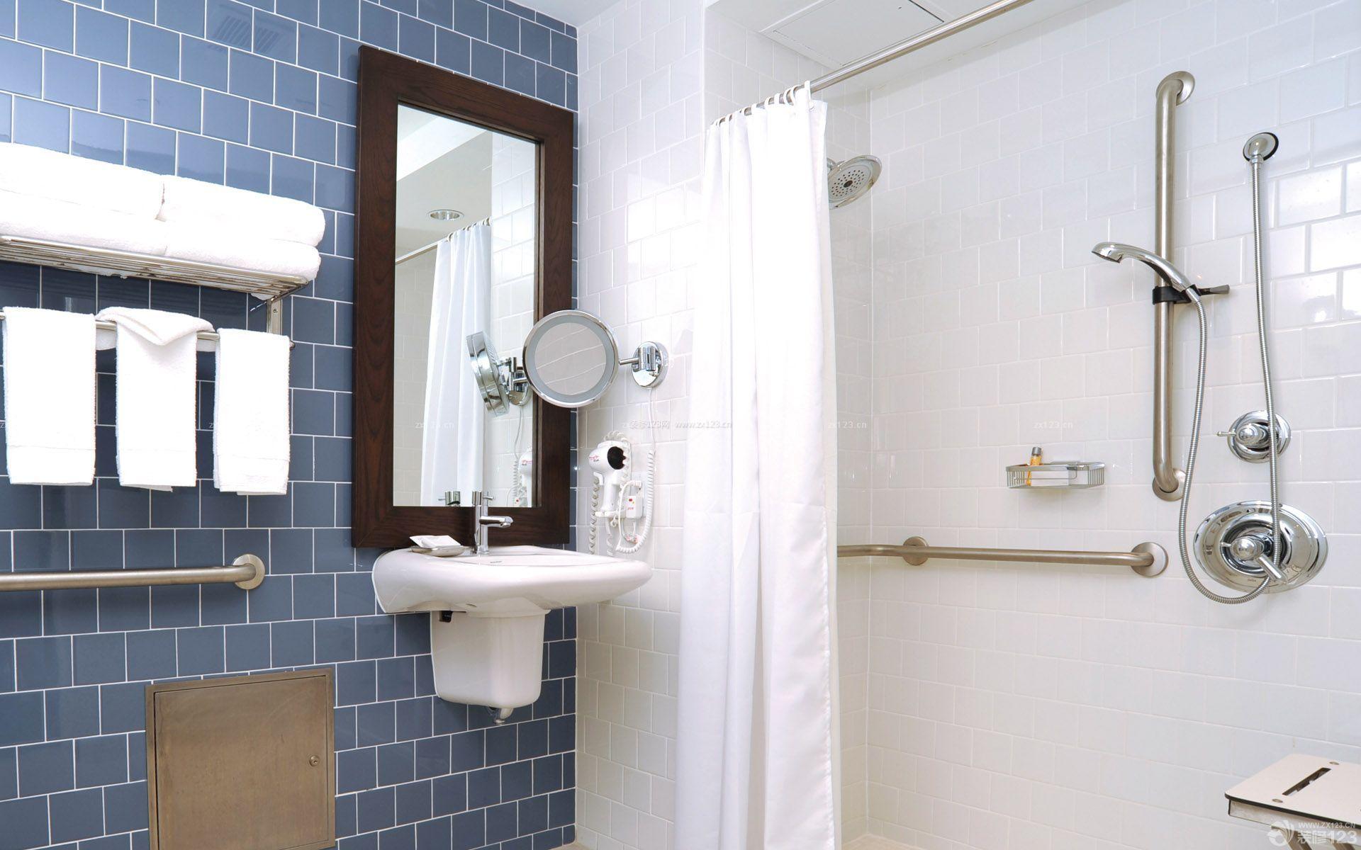 家装效果图 交换空间 交换空间86平米小户型浴室装修设计实景图 提供