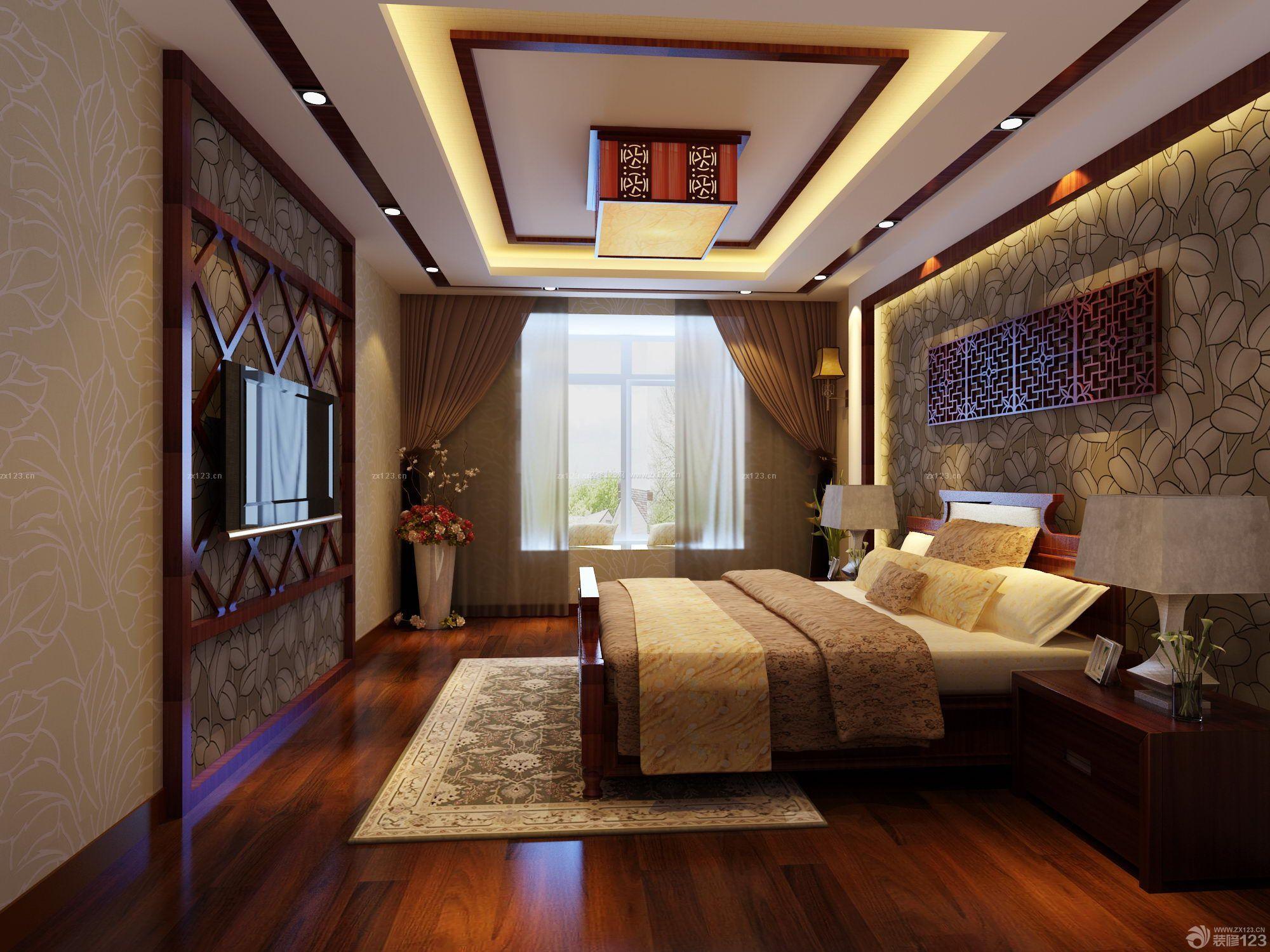 2014小洋房欧式卧室装修效果图