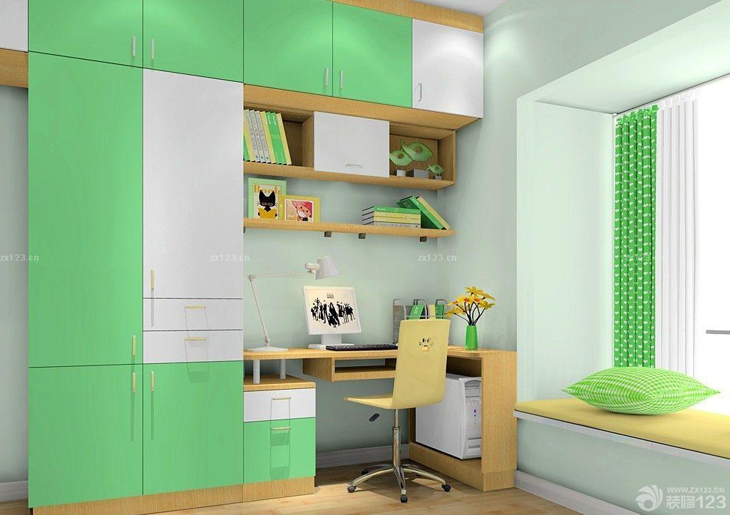 现代日式风格小房间榻榻米装修效果图