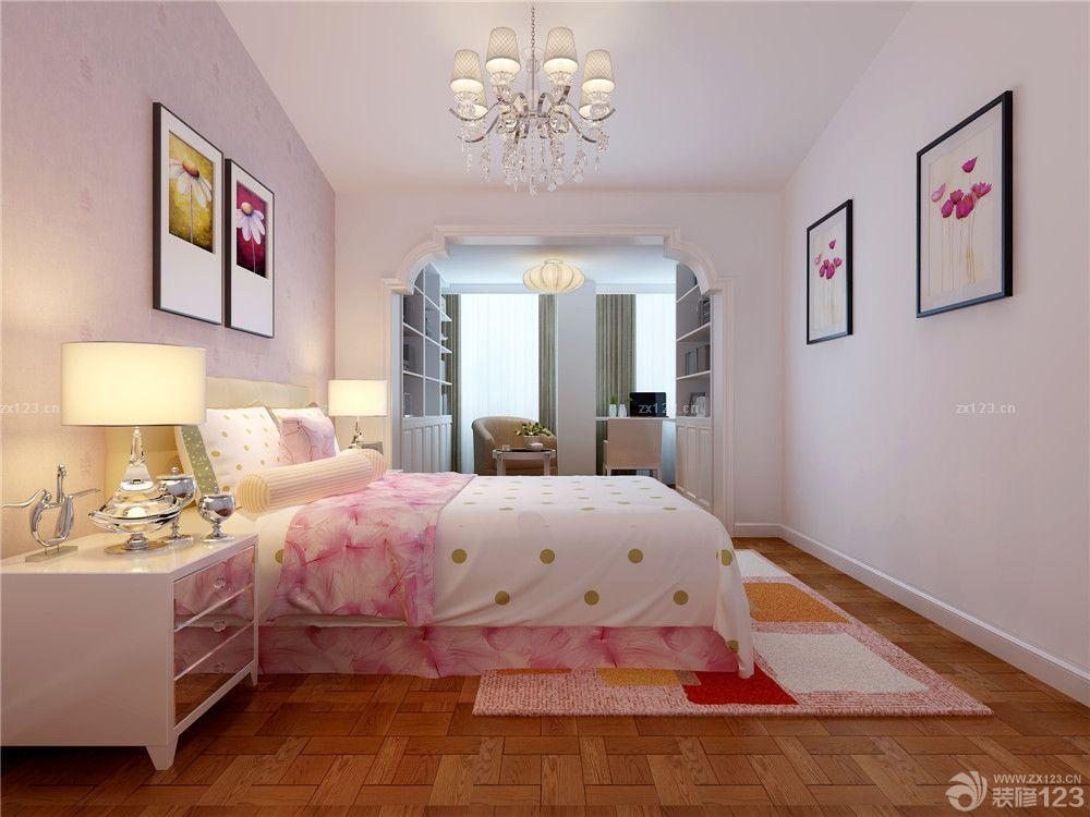 后现代风格卧室阳台书房门洞造型设计图片_装修123图片