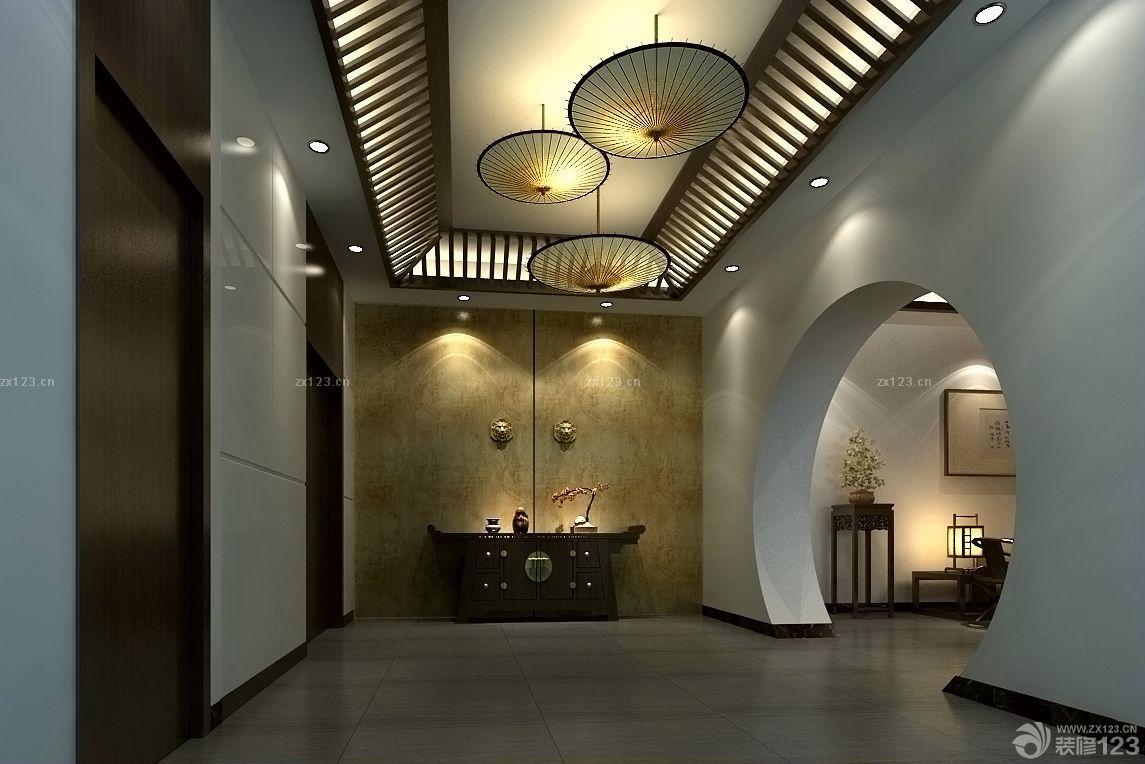 时尚现代风格室内灰色地砖装修效果图图片