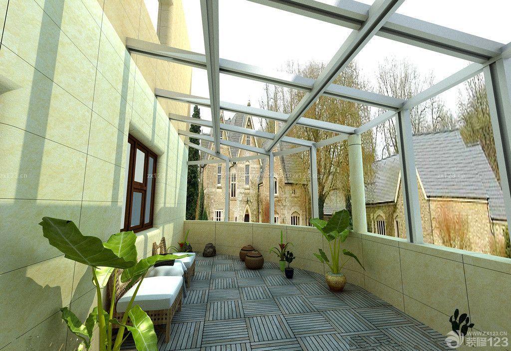 禅意家居阳台阳光房设计图片