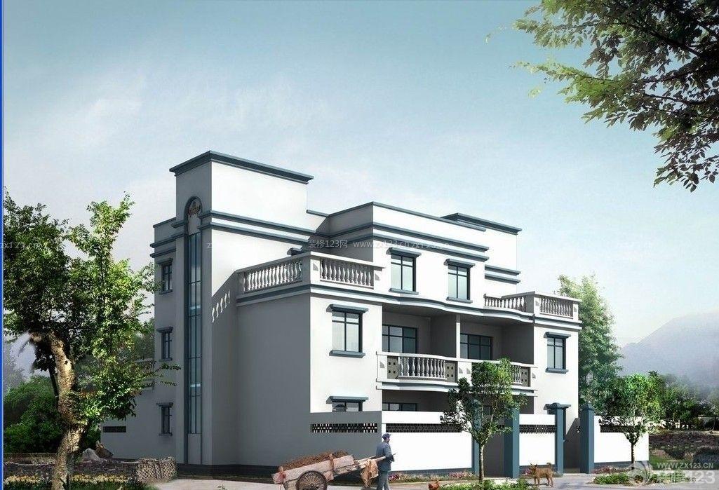 农村自建房外观设计