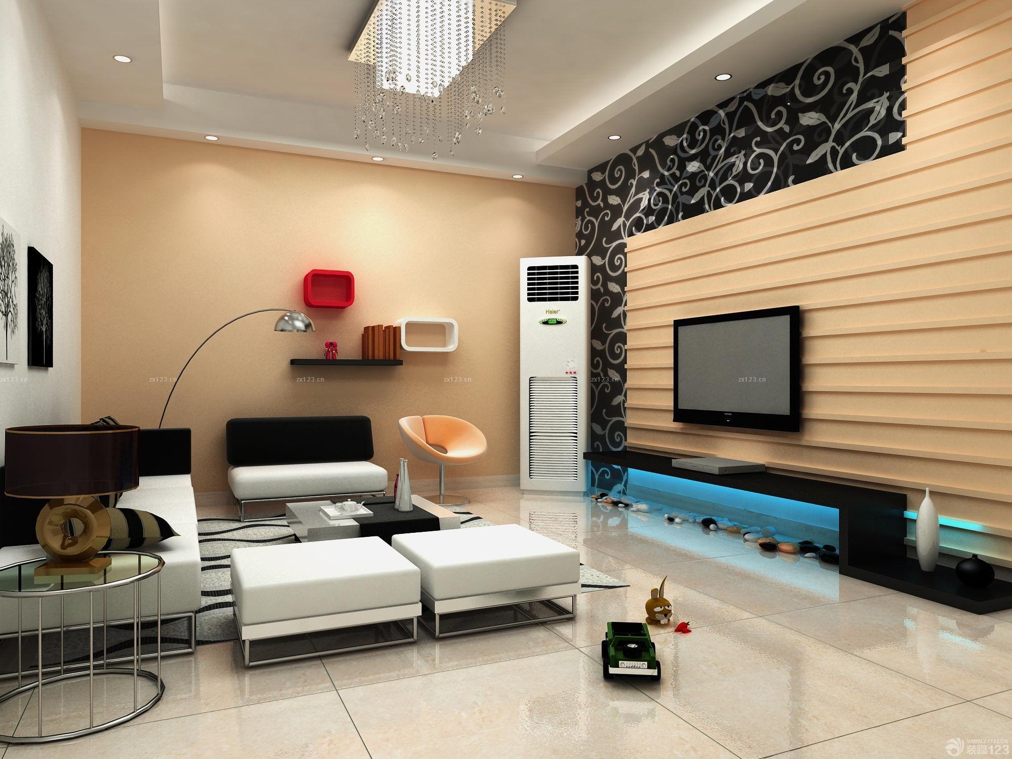 82平米老房子客厅翻新装修图片设计