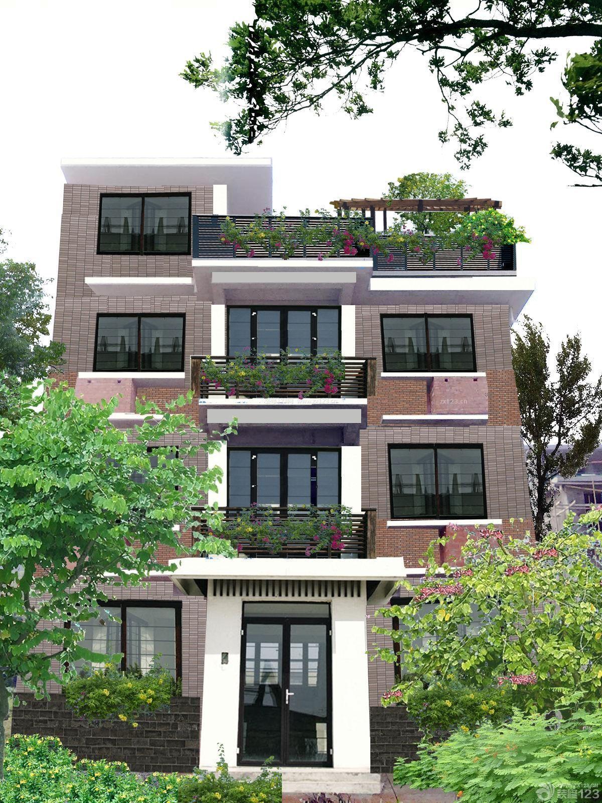 现代经典农村自建房外观设计效果图