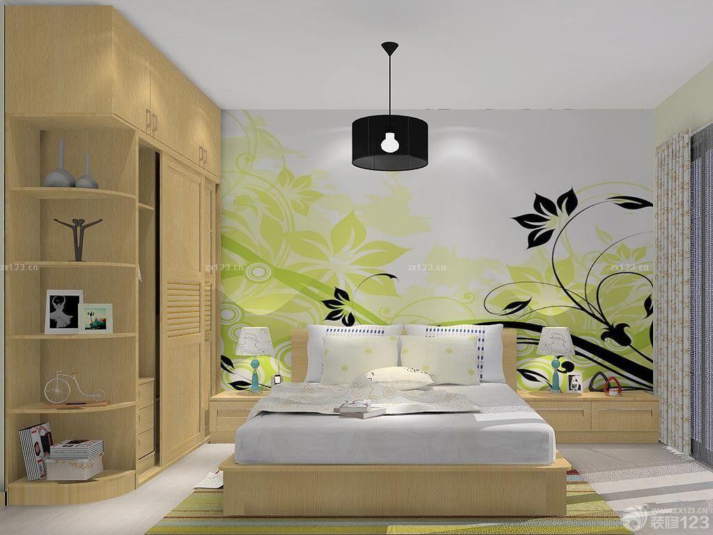 简约卧室室内墙绘图片欣赏