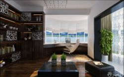三室兩廳書房設計電腦桌裝修圖片