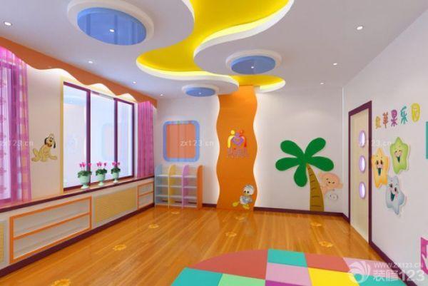 解密:一个功能完备的幼儿园,要有完善的教室,音体室,休息室,多功能