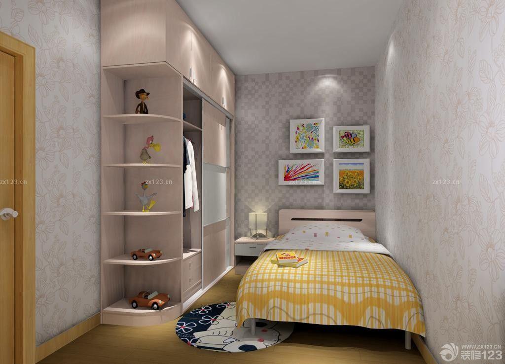 55平米两室一厅小房间卧室装修设计图片